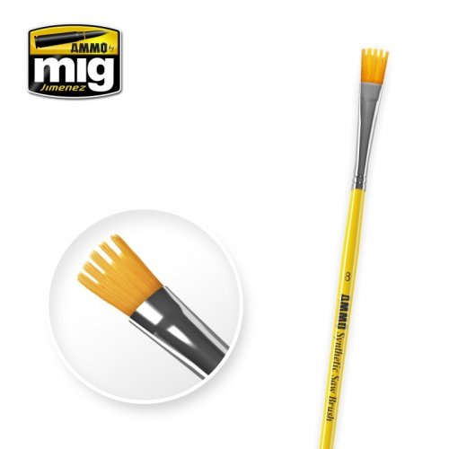 Ammo by Mig - Synthetic Saw Brush Size 8