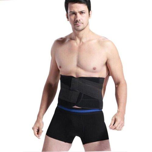 Men Waist Trainer Corset Belt Body Shapers Modeling Strap Waist Slimming Belt Shapewear belly slimming sheath 838