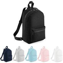 BagBase Plain Mini Essential Fashion School Sports Dance Backpack Rucksack Bag