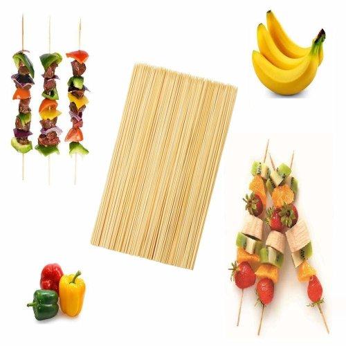 150 Bamboo BBQ Skewers 30cm Kebab Skewer Meat Cooking Grill Barbeque