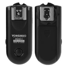 2 PCS YONGNUO RF603N II FSK 2.4GHz Wireless Flash Trigger with N1 Shutter Connecting Cable