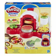 Play-Doh Stamp 'n Top Pizza Oven Toy with 5 Play-Doh Colours