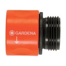 Gardena 36917 0.62 & 0.5 in.Garden Hose Quick Connector  Nylon-ABS