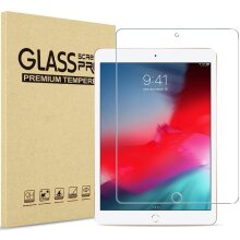 Ultra Clear 9H Hard Tempered Glass Anti Shatter HD Screen Protector for Apple iPad 10.2 8th Gen (2020) 7th Generation (2019) Bubble-Free  Anti-Scratch