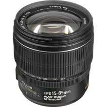 Canon EF-S 15-85mm f/3.5-5.6 IS USM Lens - Used