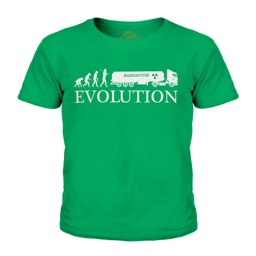 Candymix - Waste Removal Evolution Of Man - Unisex Kid's T-Shirt