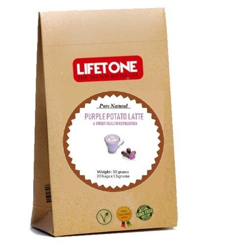 Purple Sweet Potato - Coconut Latte  Delicious Antioxidant  20 Sachets