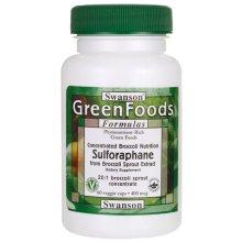 Swanson  Sulforaphane, 400mcg  - 60 vcaps