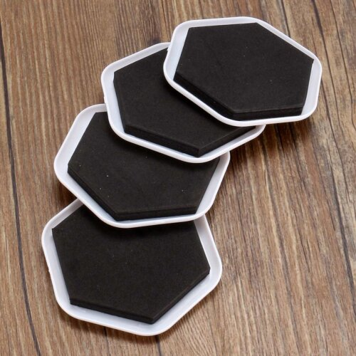 (As Seen on Image) Heavy Duty Furniture Sliders Table Moving Pads Floor Protectors House Desk Chair Sofa Legs Protector