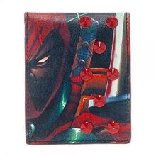 Marvel Deadpool Bi-Fold Wallet with Studs