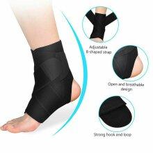 Medical Ankle Support Strap Compression Wrap Bandage Brace Neoprene