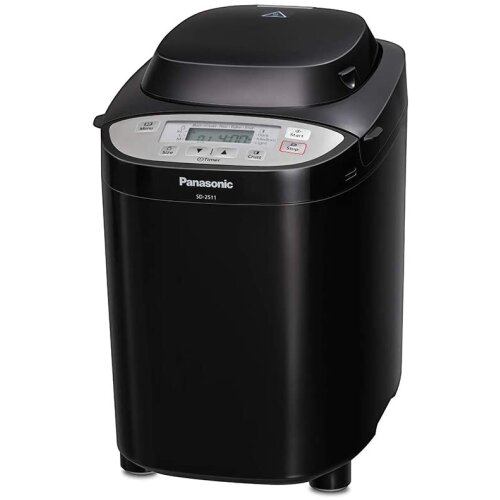 Panasonic SD-2511KXC Automated Breadmaker with Nut Dispenser, Black