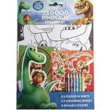 The Good Dinosaur Colouring Set