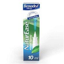 Benadryl Allergy NaturEase Nasal Spray - Helps Manage Nasal Allergy Symptoms âÃà Nasal Spray
