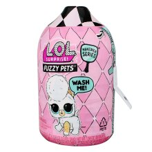 LOL Secret Surprise Fuzzy Pets Doll Ball Collectors Makeover Shampoo Wash Series
