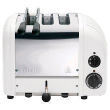 Dualit 3 Slice Combi Toaster White 31216