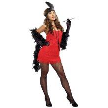 Dreamgirl Red Flapper Dress