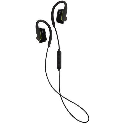 JVC AE Wireless Bluetooth Sports Clip Headphones - Black (Model No. HAEC30BTB)