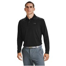Under Armour Mens Performance Long Sleeve Stretch Wicking Golf Polo Shirt