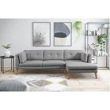 Pacific Modern Corner Sofa 280cm width 7 Colours High Quality Cotton