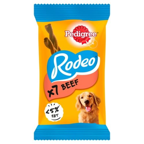 Pedigree Rodeo Beef 7 Stick (Pack of 12)