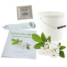 Elderflower Cordial Starter Kit for 1.5L Ingredients included just add flowers
