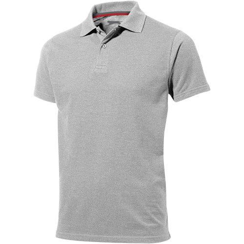 (XXXL, Grey Melange) Slazenger Mens Advantage Short Sleeve Polo