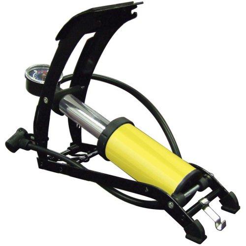 Foot Pump Single Piston Hi Pressure - Quick Inflation