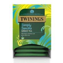 Twinings Simply Sencha Green Tea Pyramid Tea Bags - 4x20