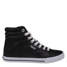 SoulCal Womens Asti Hi Tops Trainers Lace Up Reinforced Colour Contrasting Shoes