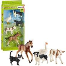 Schleich 42386 Farm Life Assorted World Animals Toy