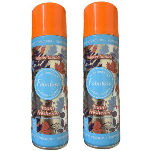 Fabulosa Foam Freshener Winter Garden Carpet Cleaner 300 ml