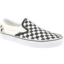 Vans Classic Slip-On Mens Shoes Black / White / Checkerboard