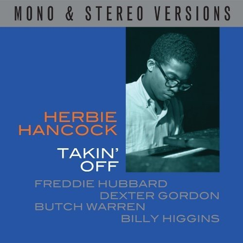 Takin off - Mono / Stereo Double Cd Audio Cd Herbie Hancock
