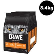 CRAVE Dog Complete With Turkey & Chicken 3x2.8kg
