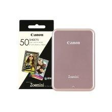 Canon Zoemini Slim Body Pocket Sized Photo Printer Rose Gold inc 60 Prints