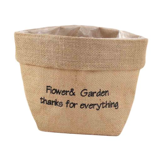 Craft Materials Decoration Flower Shop Linen Bag Flower Wrapping Bag