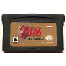 The Legend of Zelda: Four Swords - Gameboy Advance Cartridge