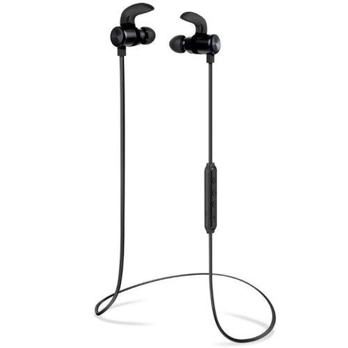 Bluetooth Headphones, Wireless Earbuds Sport Magnetic Earphones, CVC 6.0 Noise Cancelling Mic.