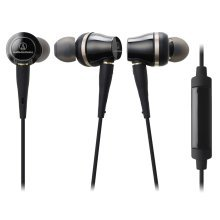 Audio-Technica ATH-CKR70iS In-Ear High-Resolution Headphones - Black