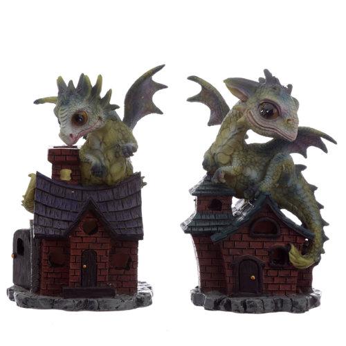 Cute Baby Sweet Dreams Dream Protector Dragon Figurine