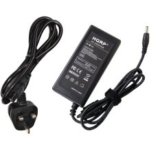 HQRP AC Adapter for HP Pavilion 23cw 22cwa 23er 25er 27er 22es 25es 27es 23xw 27xw 24ea 20 21 23 24 25 27 Inch Monitors Power Supply Cord Cable