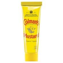 Colman's Original English Mustard Squeezy Tubes - 12x50g