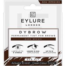 Eylure Dybrow Dark Brown Eyebrow Dye Kit
