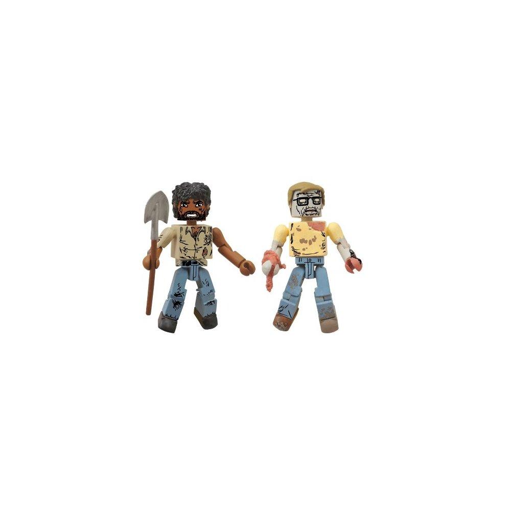 Survivor Morgan /& Geek Zombie THE WALKING DEAD Minimates