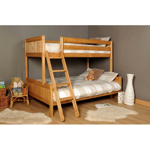 Islington Triple Wooden Bunk Bed with Kerri Mattresses