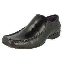 Mens Lambretta Smart Leather Moccasin Shoes Sydney 209501