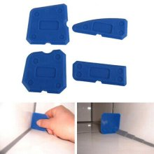6pcs Silicone Sealant Spreader Profile Applicator Tile Grout Tool Kit