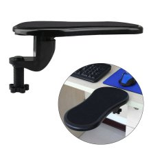 Cusfull Computer Armrest Pad Adjustable Arm Wrist Rest Support for Home and Office