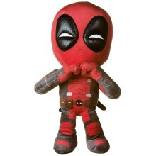 Deadpool 12' Marvel Heart Sign Soft Plush Toy
